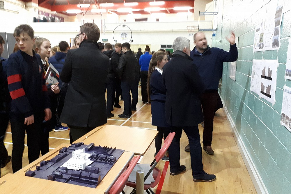McKevitt Architects attend 'Careers Exploration Evening'