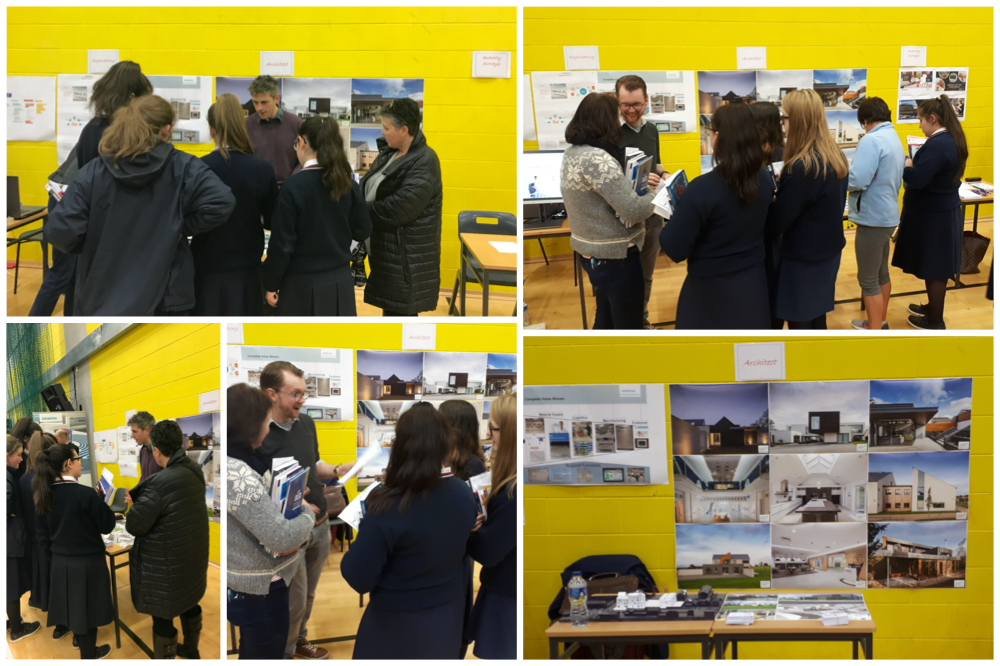 MCKEVITT KING ARCHITECTS ATTEND THE 2019 'CAREERS EXPLORATION EVENING'