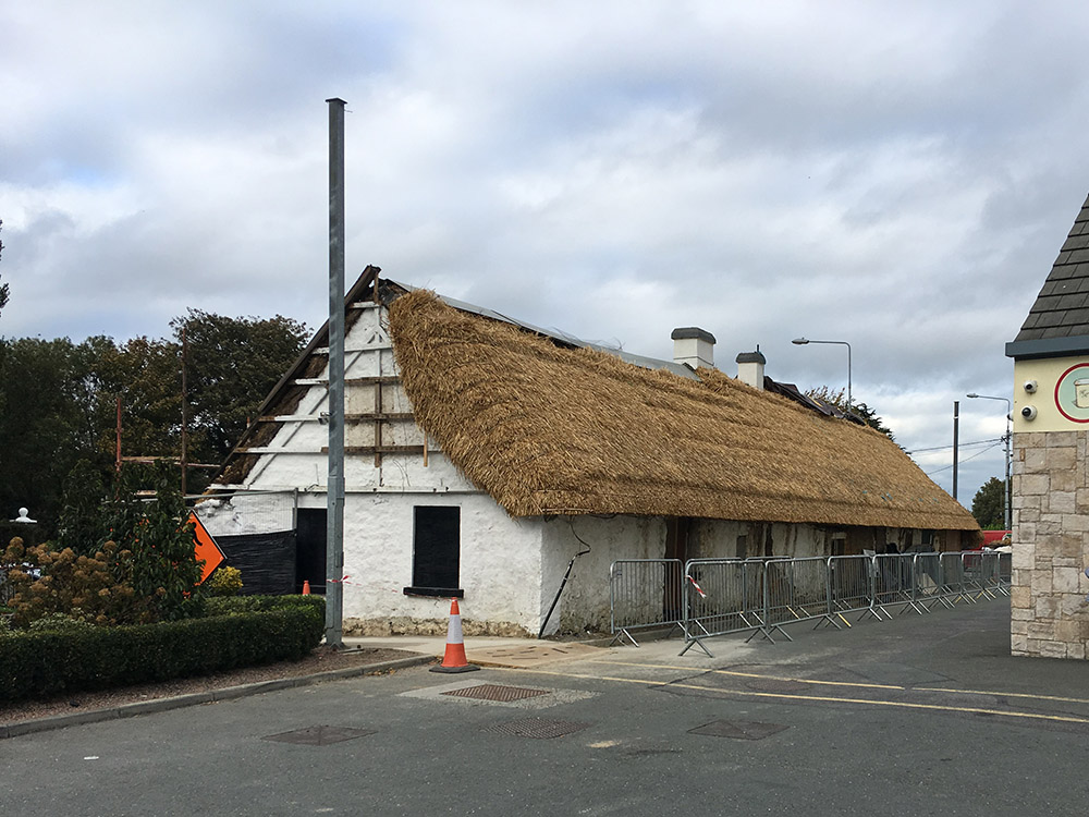 The Thatch Progress