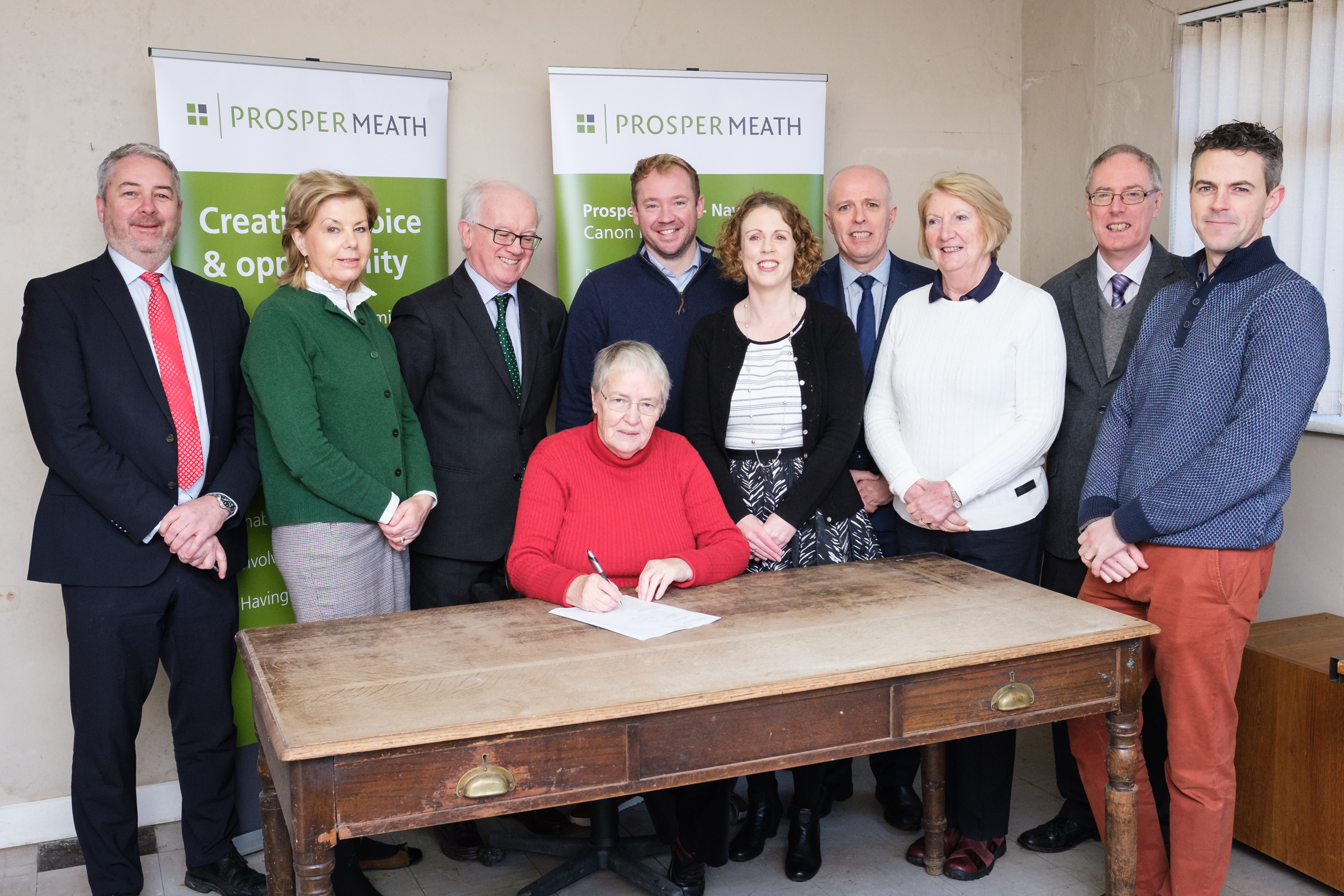 Prosper Meath Contracts Signed