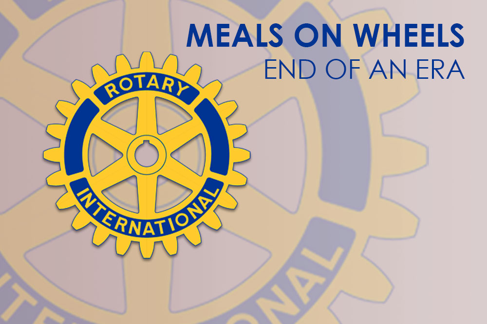 Meals on Wheels - End of an era