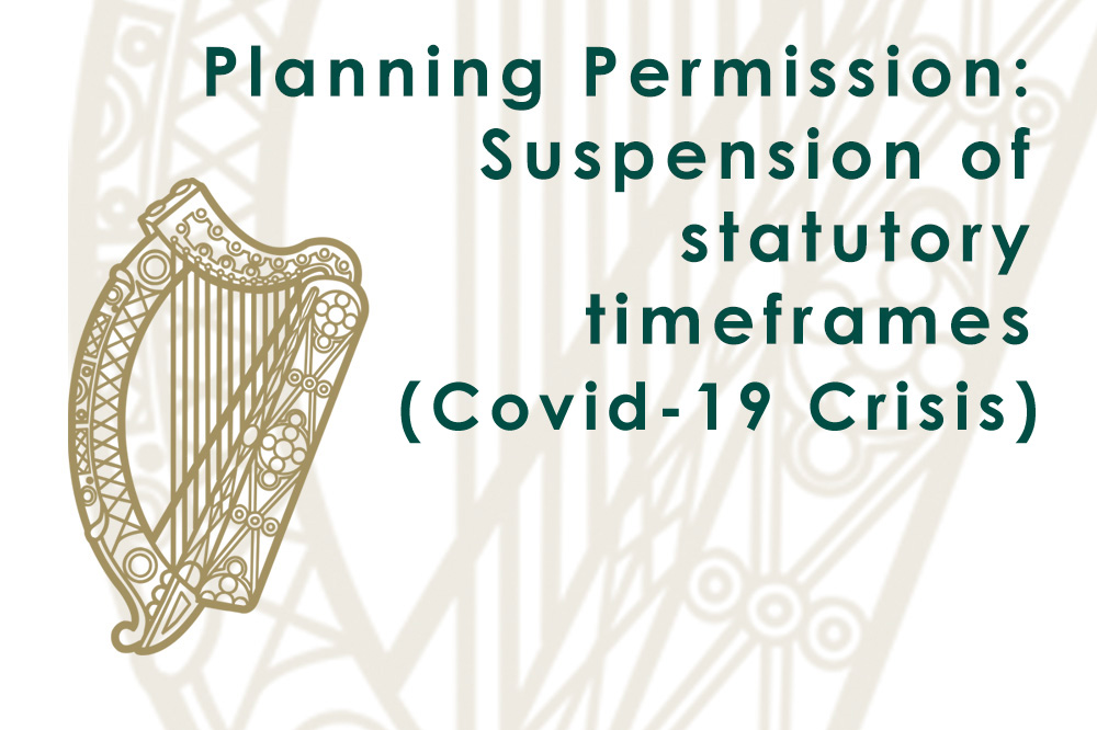 Planning Permission: Suspension of statutory timeframes